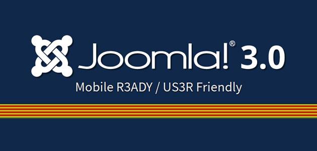 Joomla 3.0, ja disponible en Català