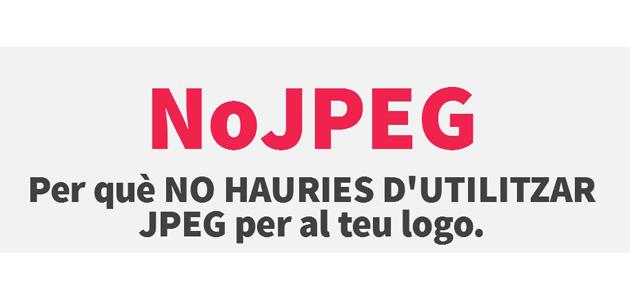 Per què NO hauries d'utilitzar JPEG per al teu logo?