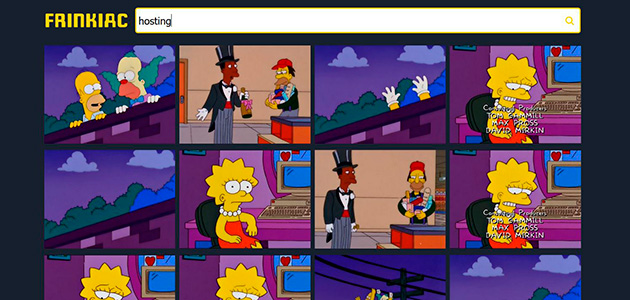 Frinkiac, el cercador dels Simpsons