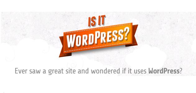 Està fet amb wordpress?