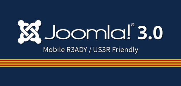 Joomla 3.0, ja disponible en Català