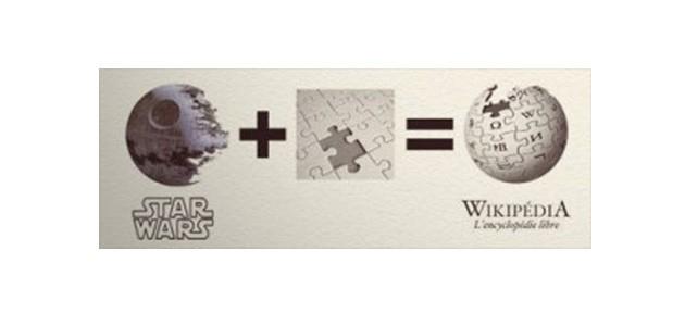 Origen del logo de la viquipèdia