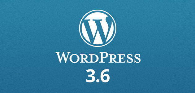WordPress 3.6 disponible