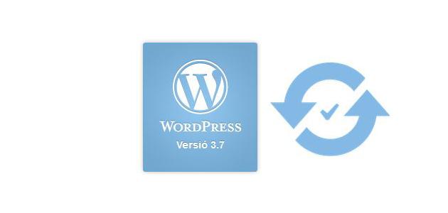 Actualitzacions en segon pla amb WordPress 3.7