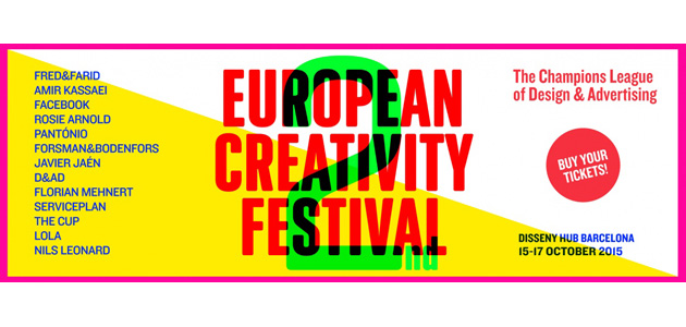 2nd European Creativity Festival, Barcelona